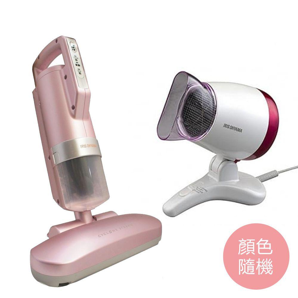 日本 IRIS OHYAMA - 『母親節獨家』[大拍3.5] 雙氣旋偵測除蟎清淨機 HEPA13銀離子限定版 + 懶人吹風機