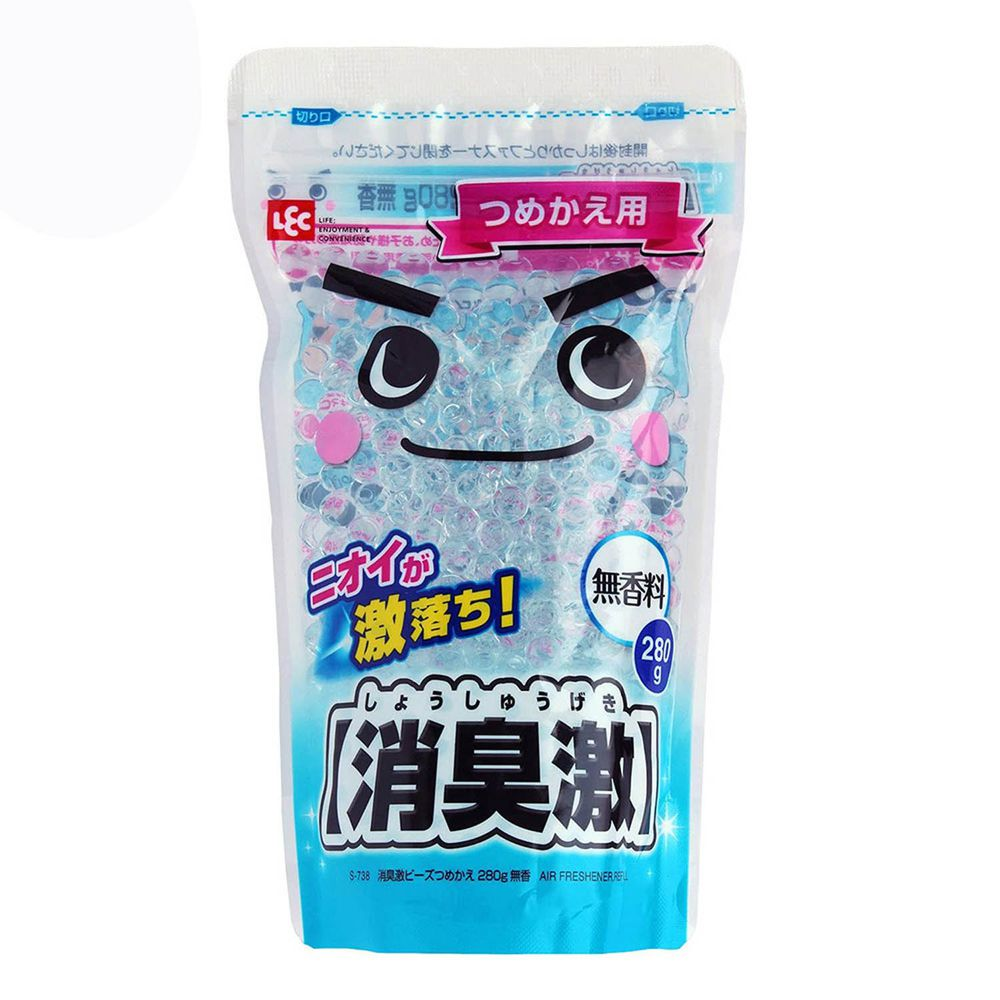 日本 LEC - 消臭激補充包-無香-280g