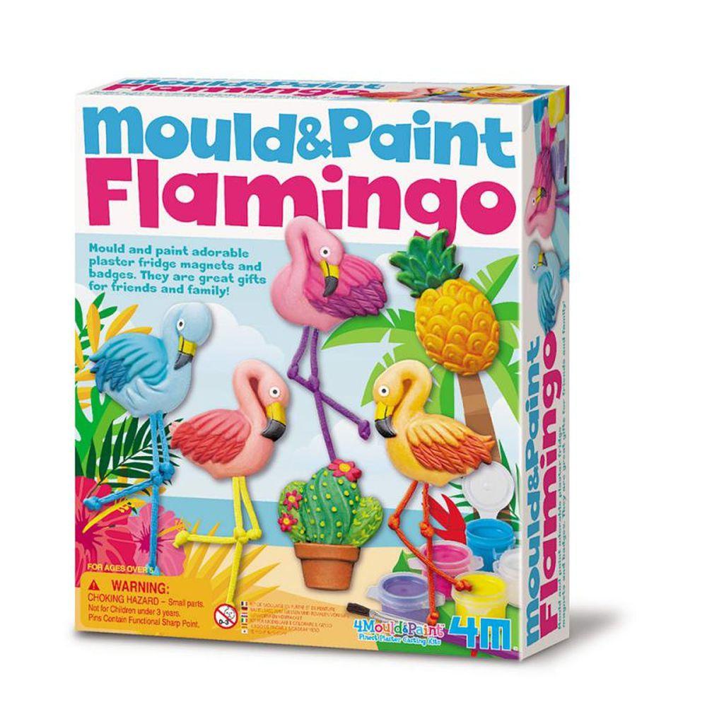 香港4M創意玩具 - 製作磁鐵-熱情火鶴