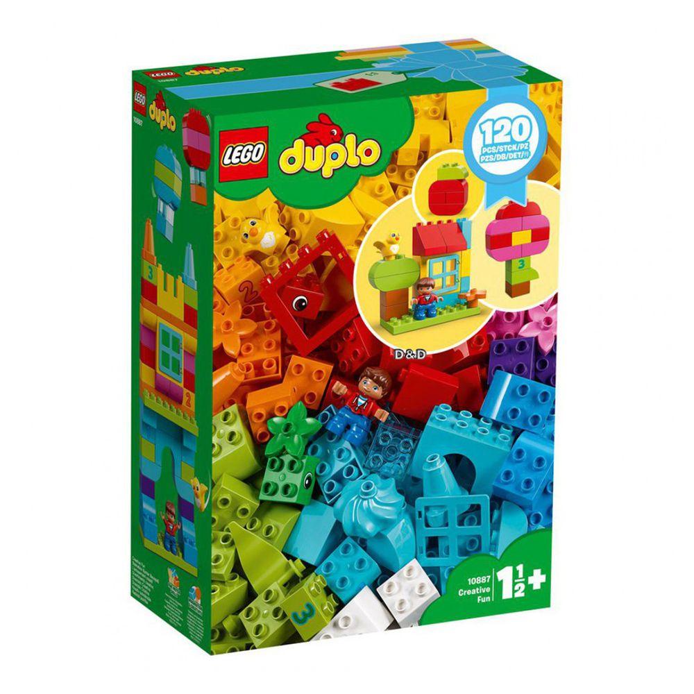 樂高 LEGO - 樂高 Duplo 得寶幼兒系列 - 歡樂創意顆粒套裝 10887-120pcs
