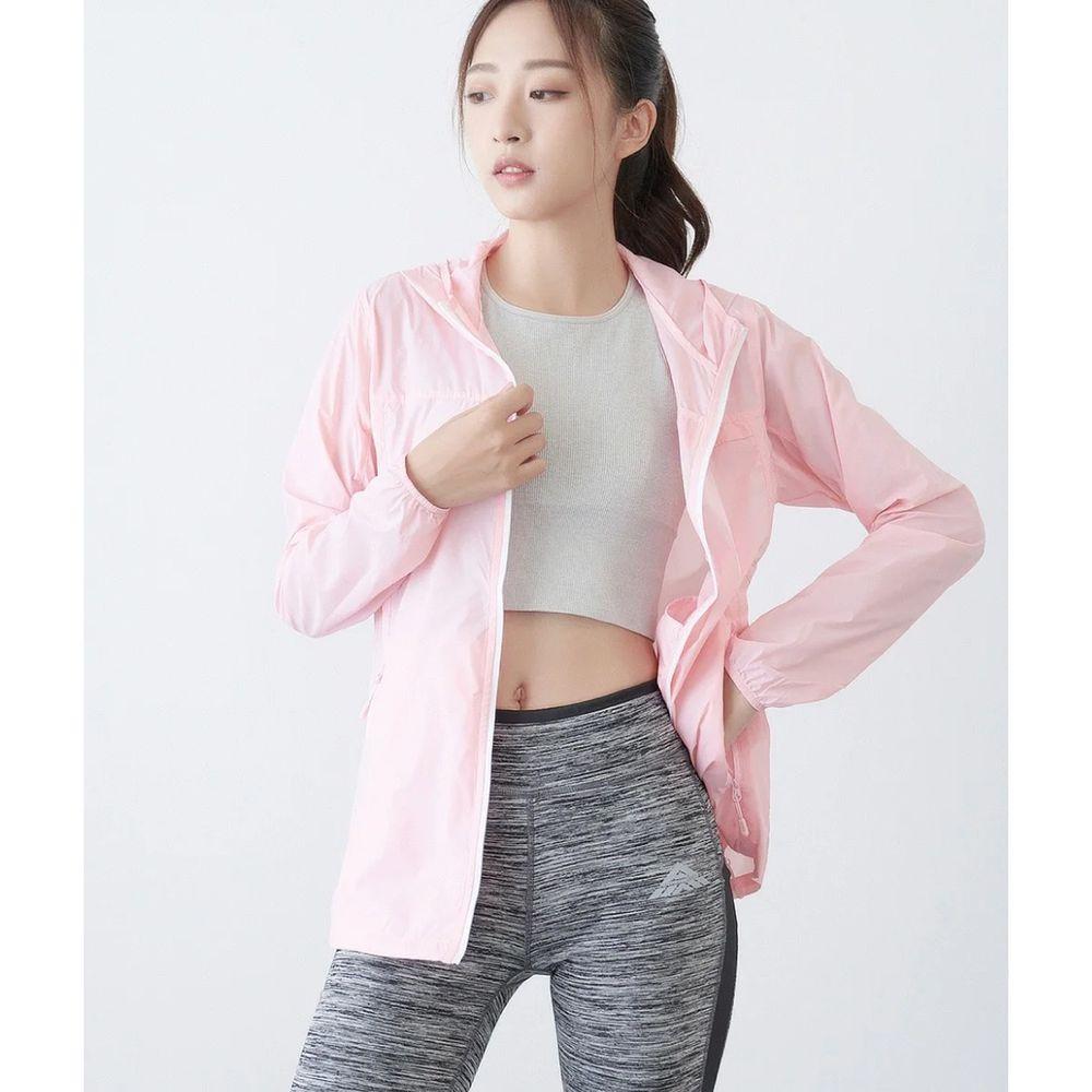貝柔 Peilou - 20D羽量冰絲防曬外套(女)-粉紅