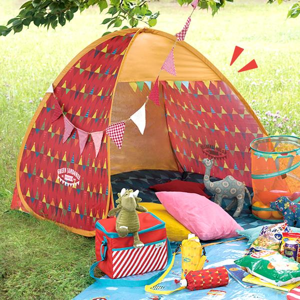 一秒組裝!日本抗 UV 秒開帳篷 / 野餐用品