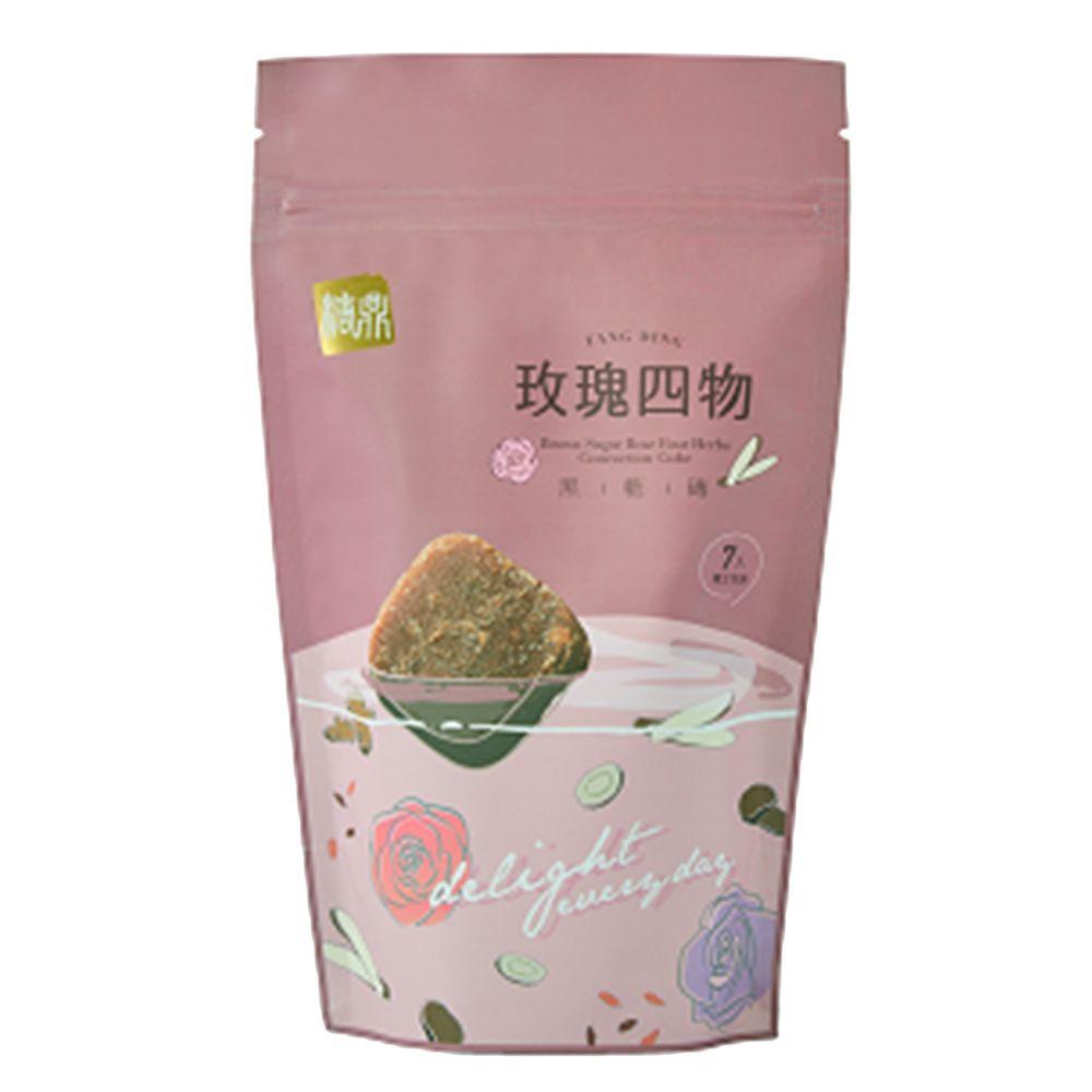 糖鼎黑糖磚 - 黑糖玫瑰四物-7入 (小)-30g*7入/包