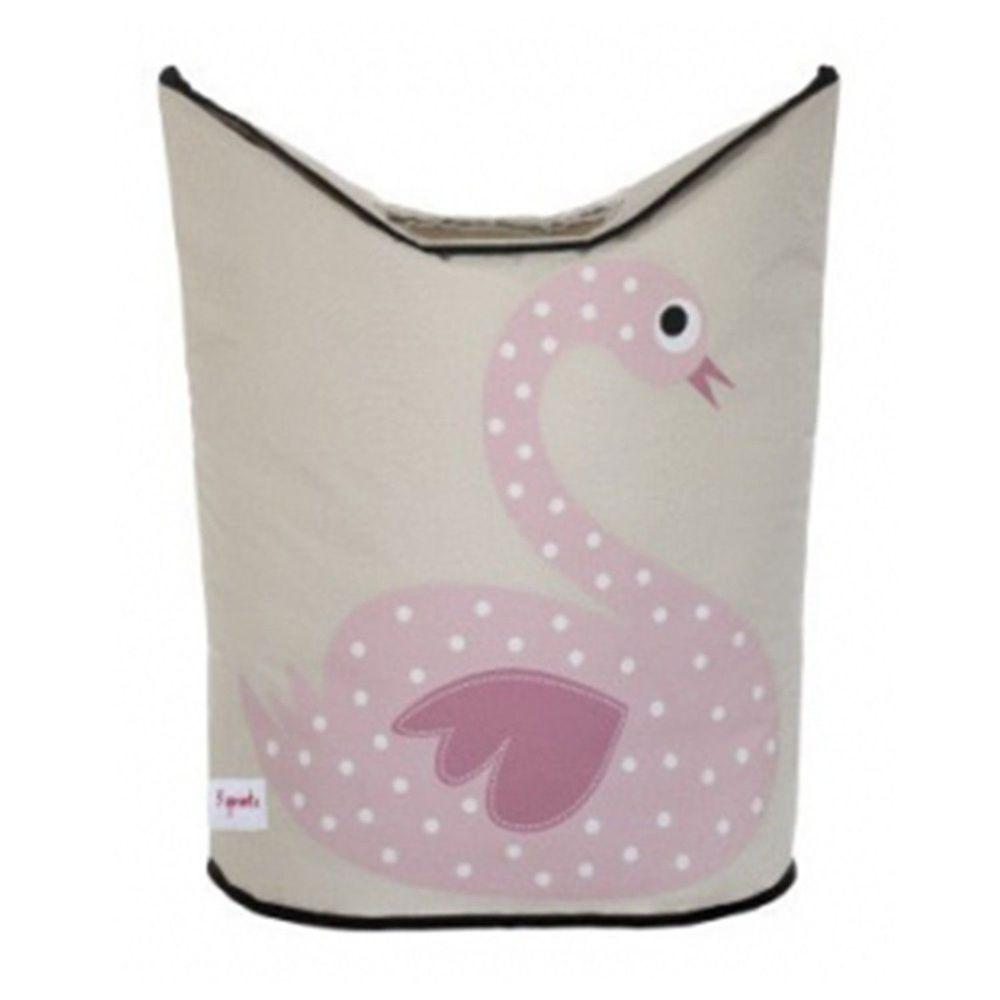 加拿大 3 Sprouts - 洗衣籃-粉紅天鵝