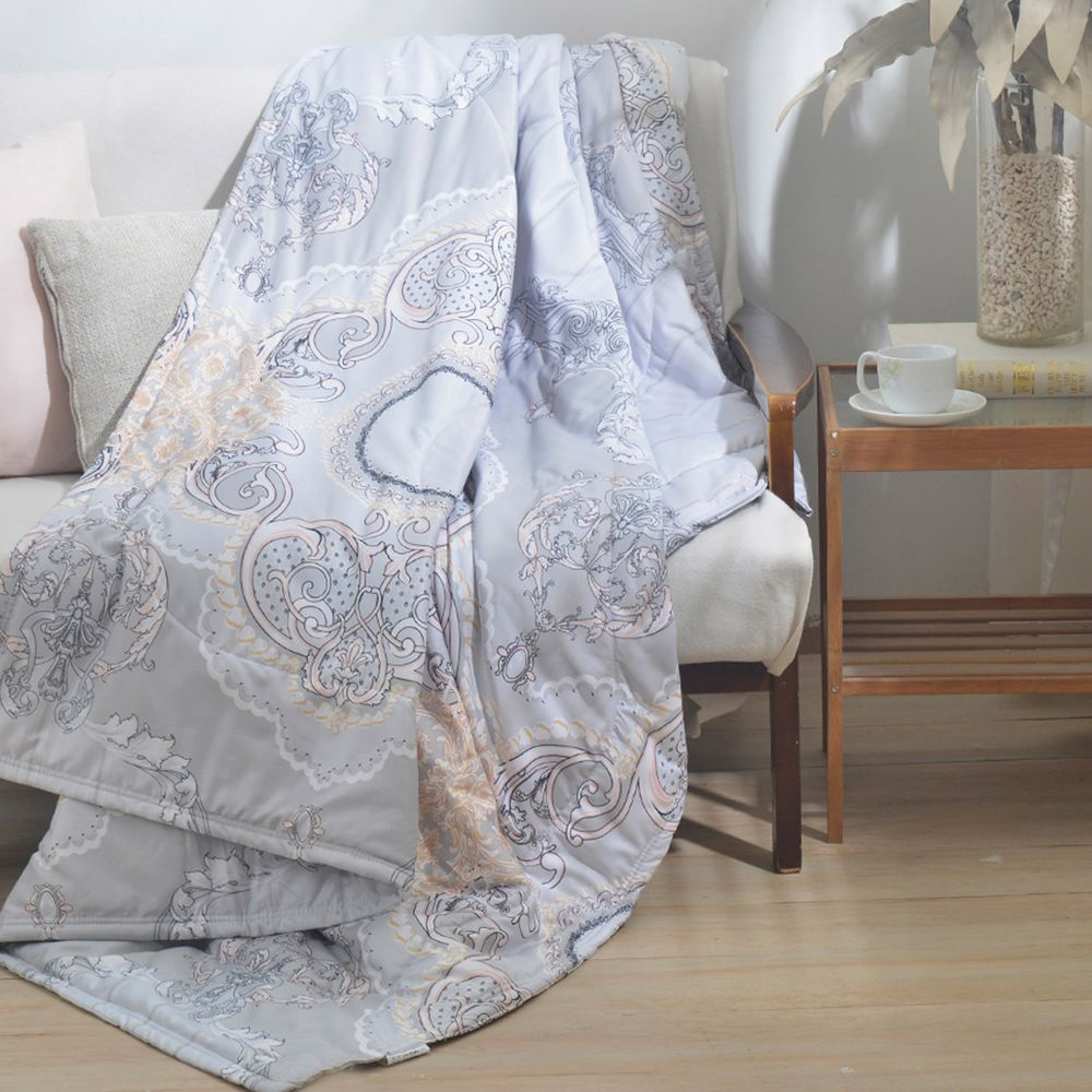 MIGRATORY 媚格德莉 - 可水洗艾草驅蚊助眠涼被-光影琉璃 (150x186cm)