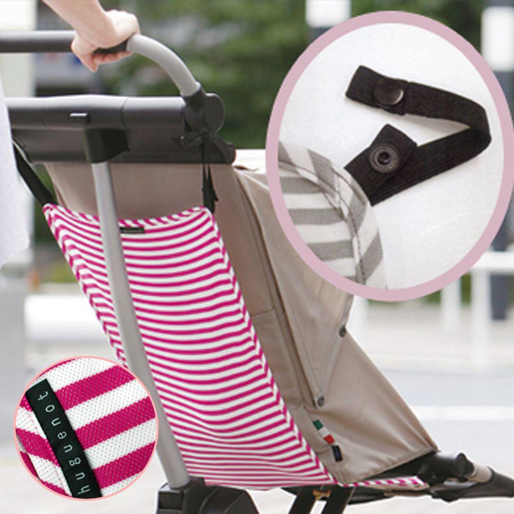 日本 Eightex - 手推車專用抗UV隔熱罩-粉紅