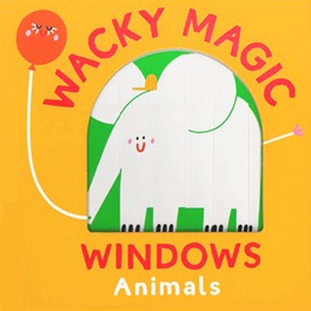 Wacky Windows: Animals 古怪百葉窗書:認識動物(厚頁書)