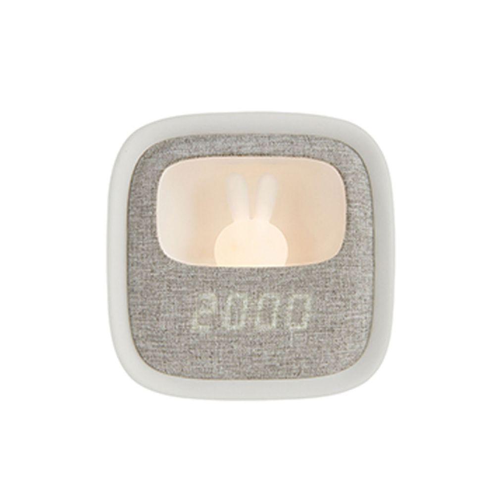 PHILIPS 飛利浦照明 - 害羞兔 LED 多功能鬧鐘 66243-PO004-白