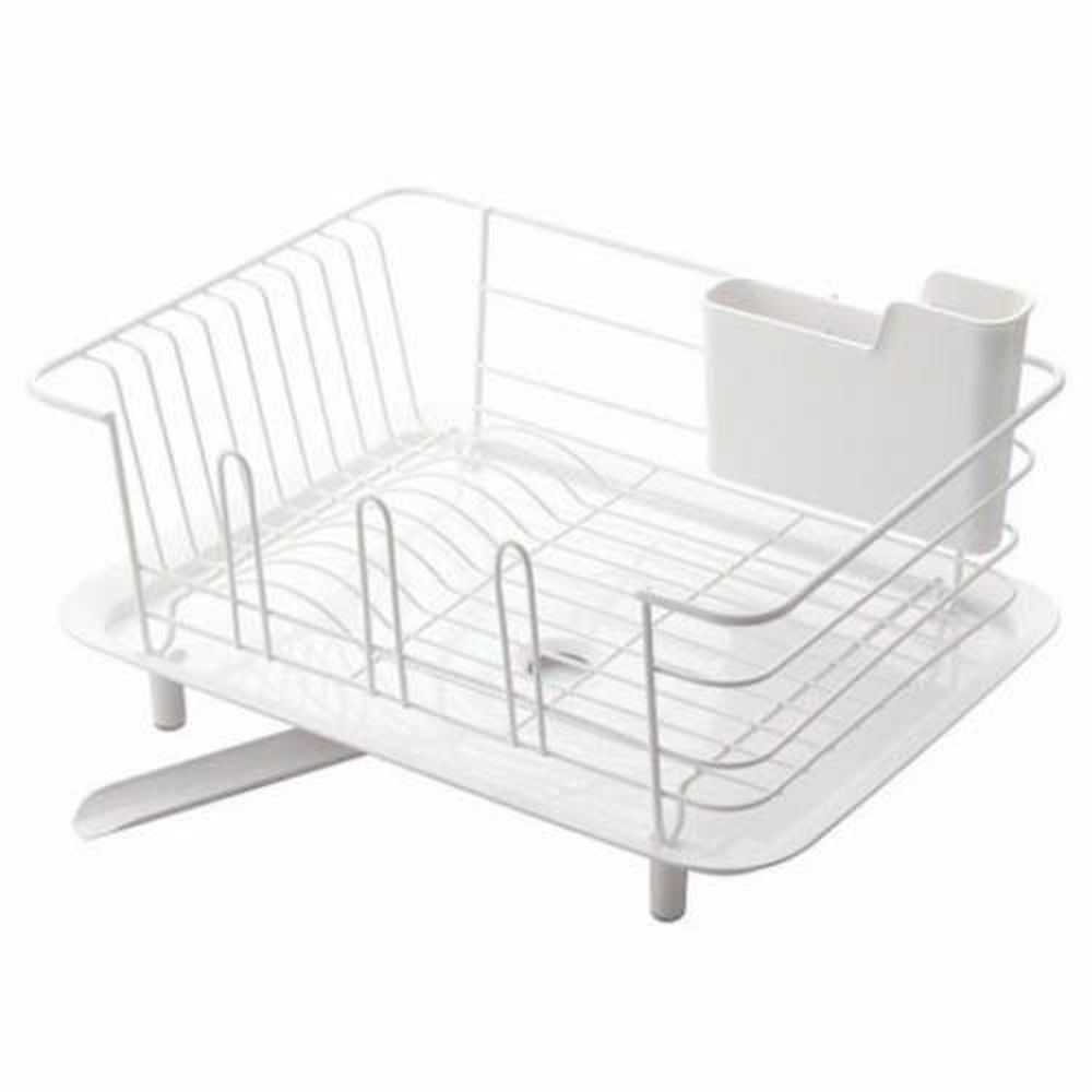 日本 LIBERALISTA - 餐具收納瀝水籃-白色 (大)