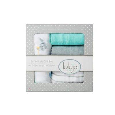 加拿大 lulujo - 嬰兒包巾禮盒組-夢境