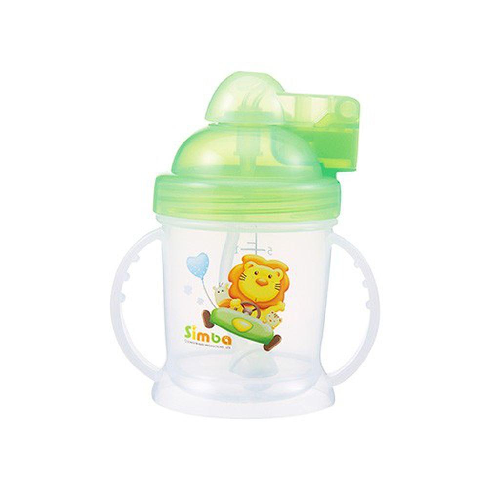 Simba 小獅王辛巴 - 自動吸管練習杯-淘氣綠