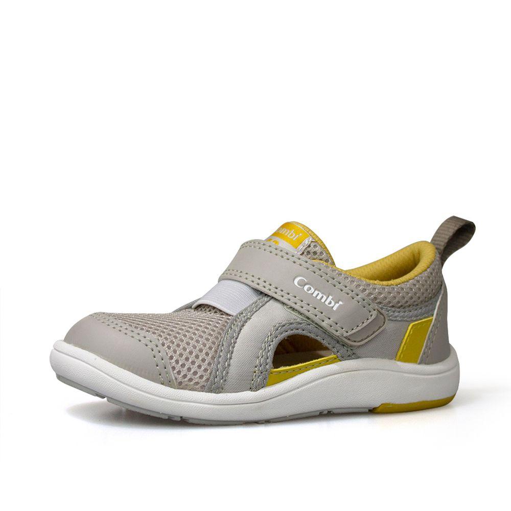 日本 Combi - 機能童鞋/學步鞋-NICEWALK 醫學級成長機能鞋-灰-C02