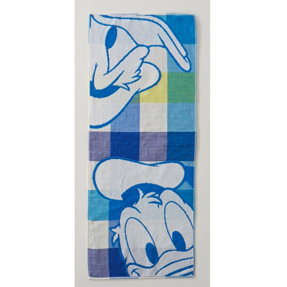 日本千趣會 - 迪士尼 抗菌加工防臭長毛巾-唐老鴨 (34x80cm)
