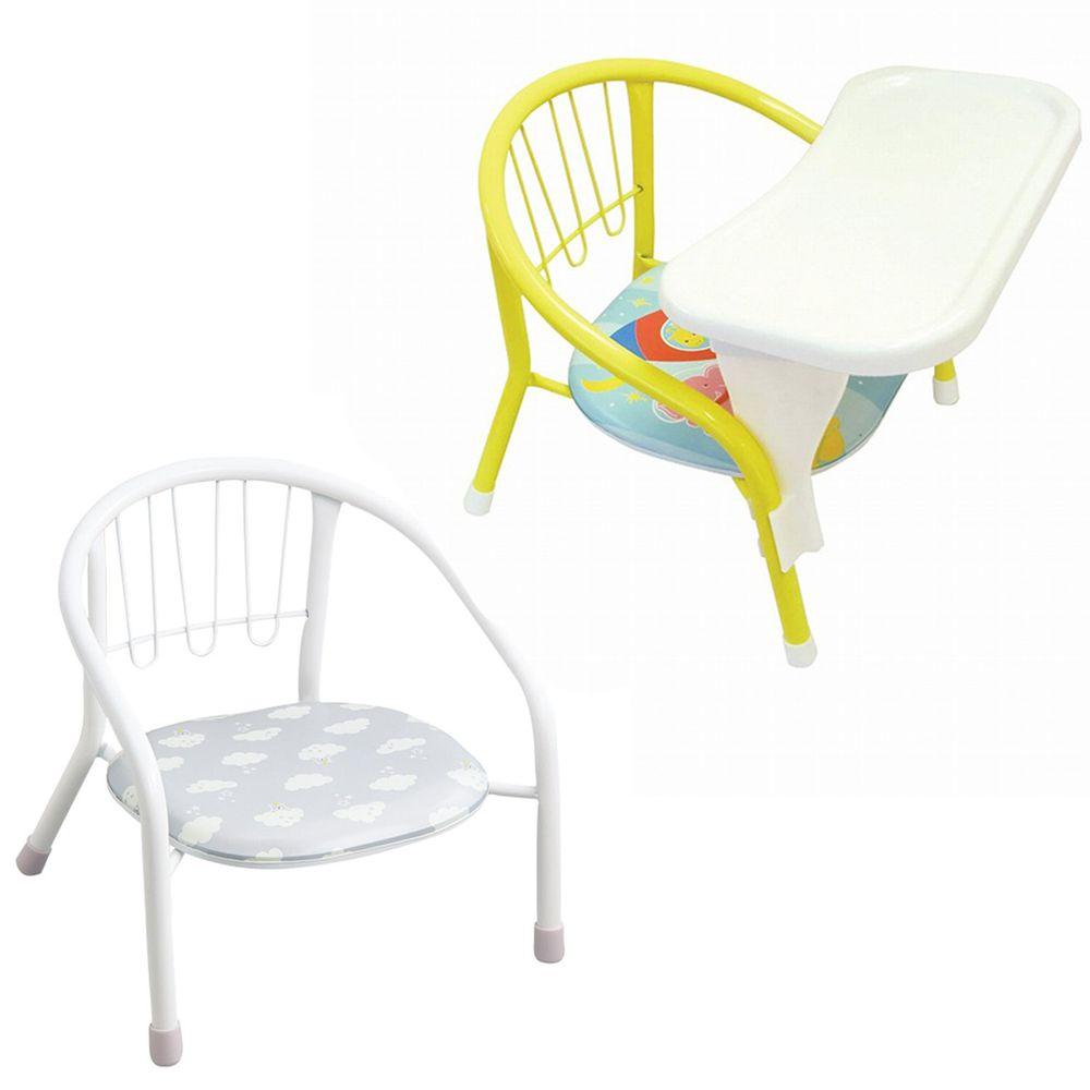 akachan honpo - 豆子椅+豆子椅專用餐桌-雲朵
