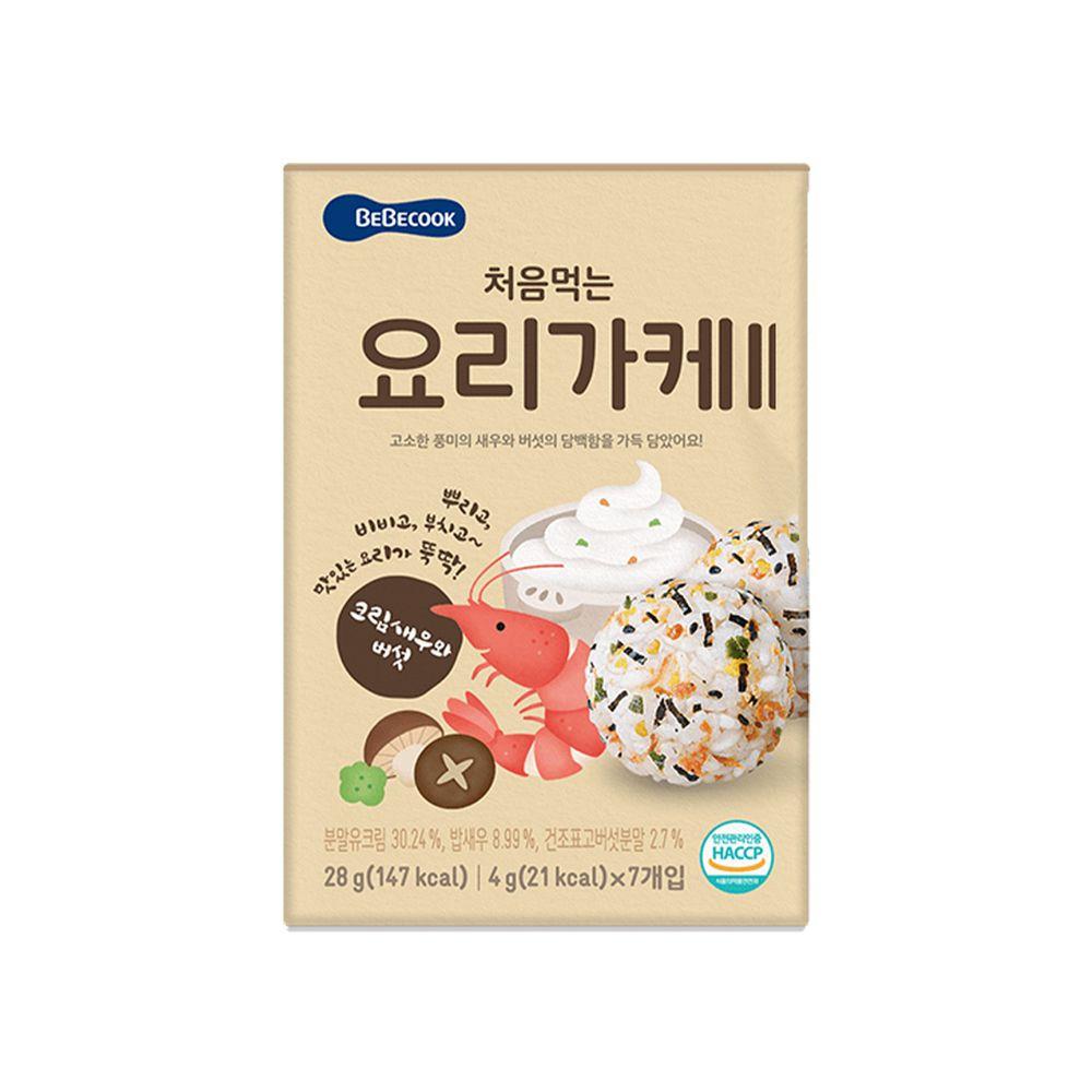 BEBECOOK 寶膳 - 智慧媽媽 初食拌飯香鬆 奶油香菇鮮蝦