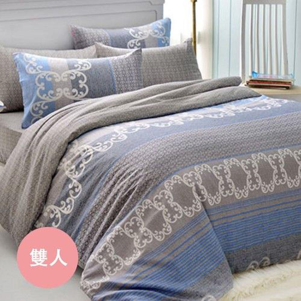格蕾寢飾 Great Living - 被套床包組-藍海假期 (雙人四件式)