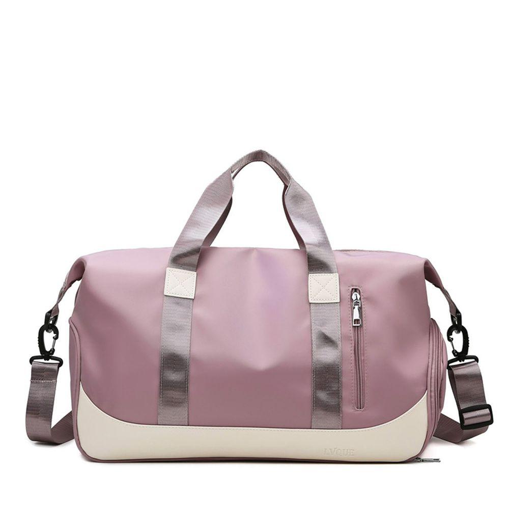 oonir - 乾濕分離旅行運動包-深粉色