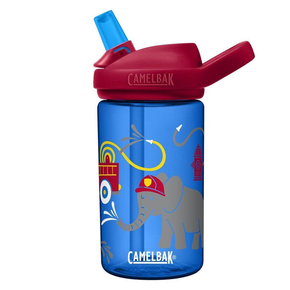 CamelBak - EDDY+ 兒童吸管運動水瓶-大象消防員 (400ml)-專案