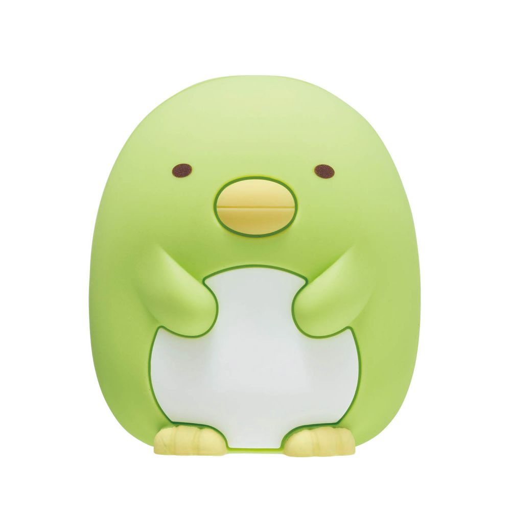 日本千趣會 - 角落生物 備長炭除臭盒-偽企鵝-綠 (6.5cm高)