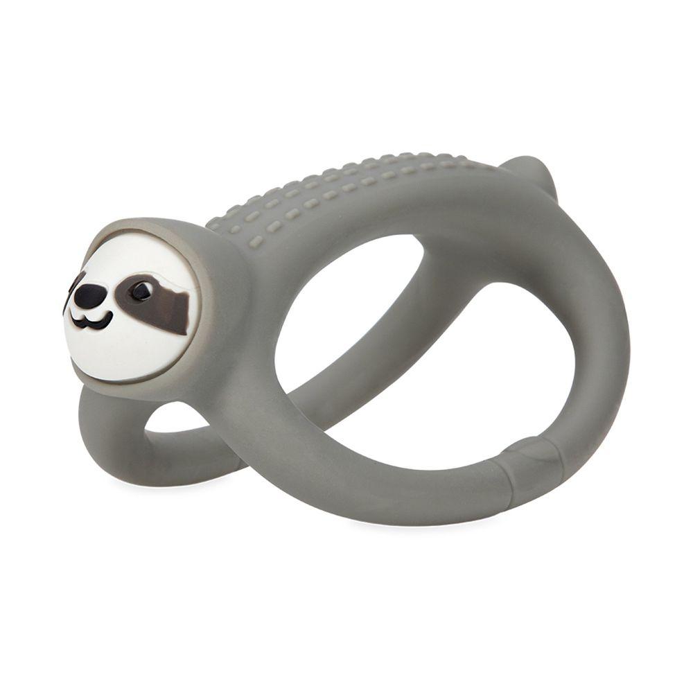 Nuby - 矽膠搖搖固齒器-樹懶