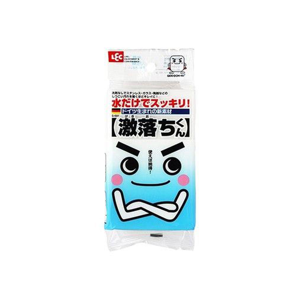 日本 LEC - 激落君免清潔劑海綿-1入