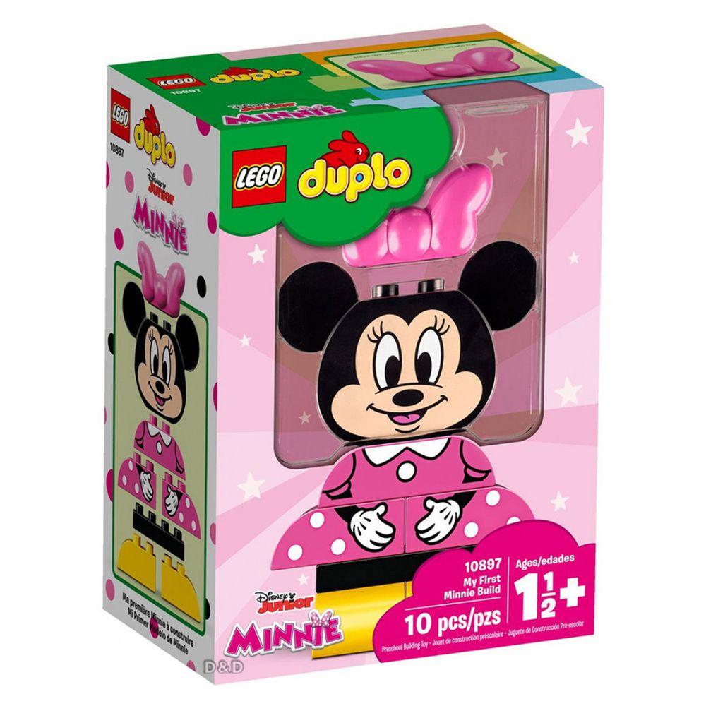 樂高 LEGO - 樂高 Duplo 得寶幼兒系列 - My First Minnie Build 10897-10pcs