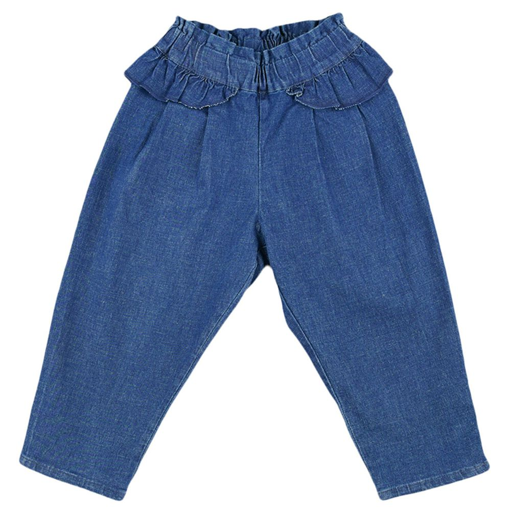 akachan honpo - 長褲-平織-深藍色