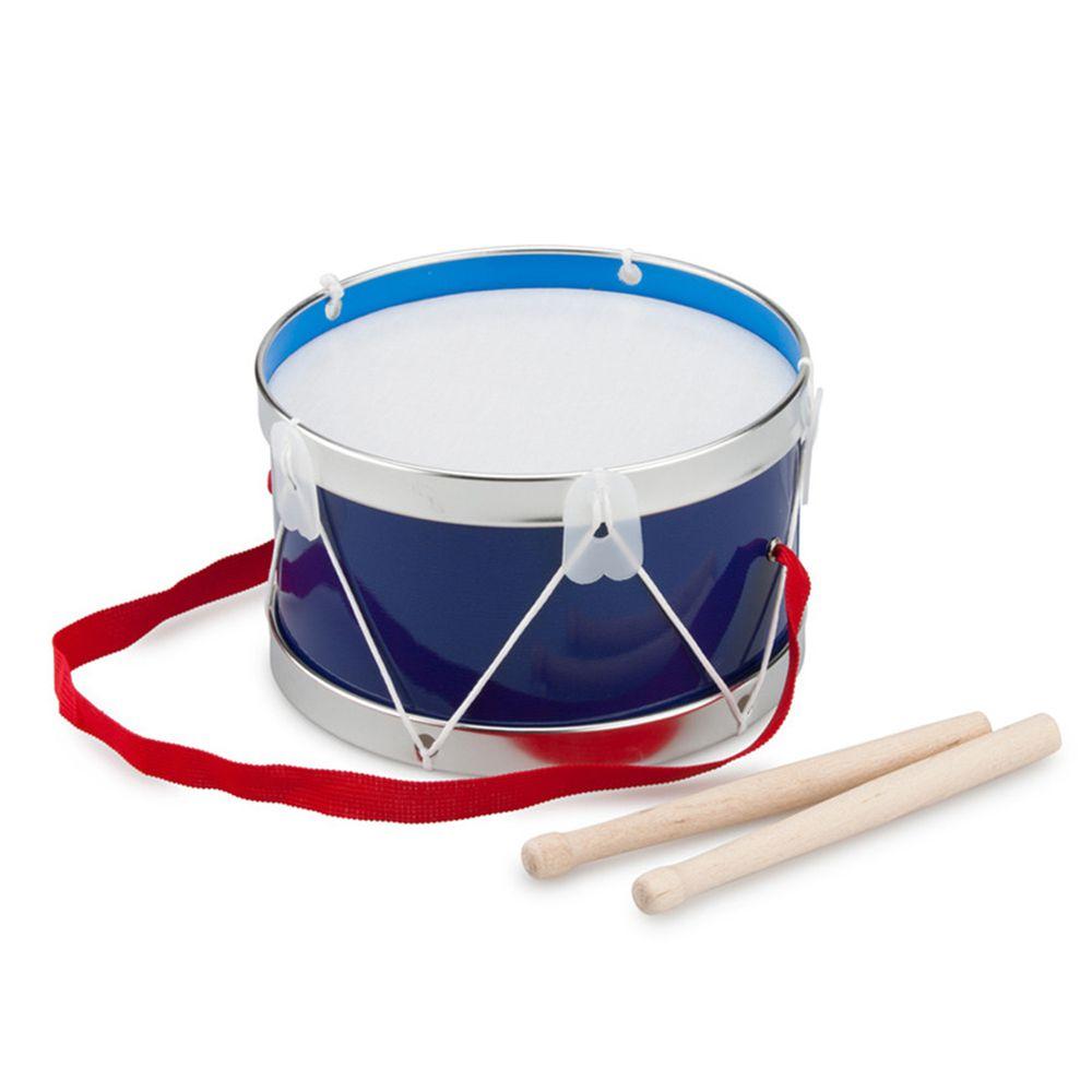 荷蘭 New Classic Toys - 幼兒音樂鼓-俏皮藍