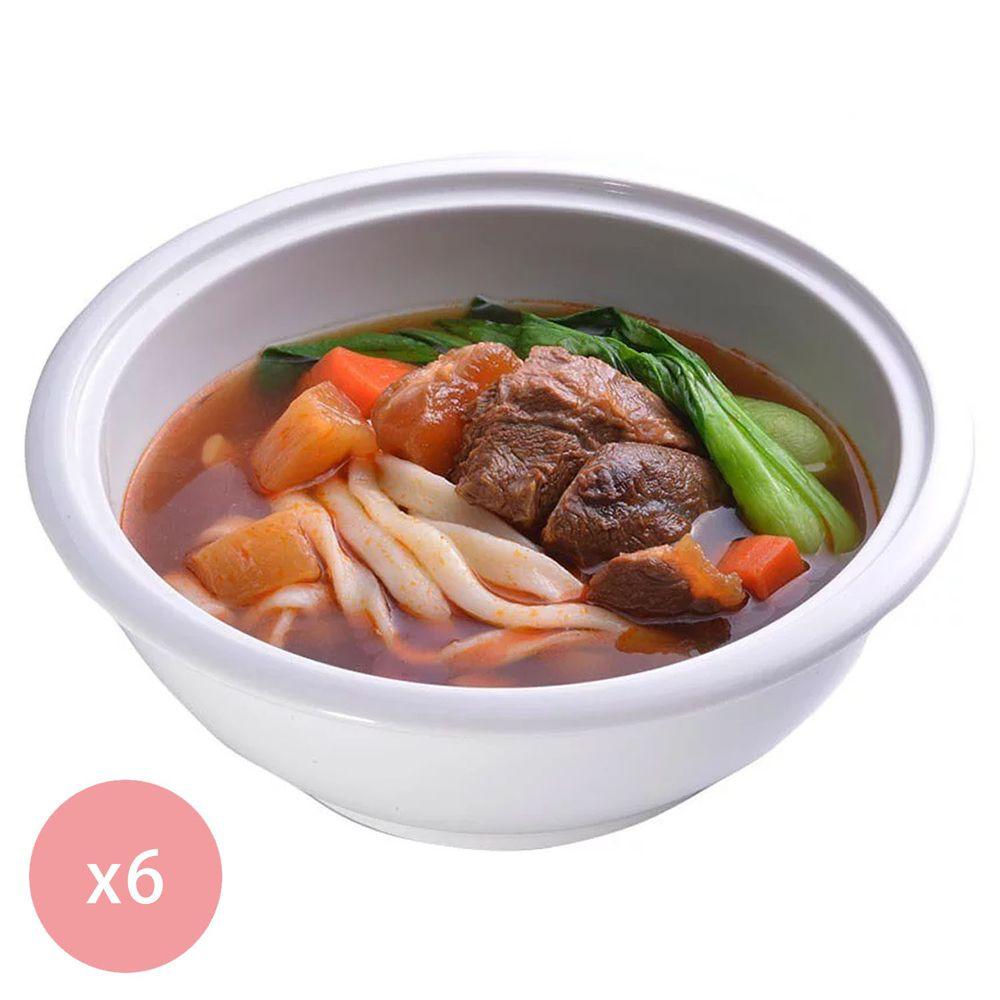 【國宴主廚温國智】 - 冷凍紅燒牛肉麵700g x6包
