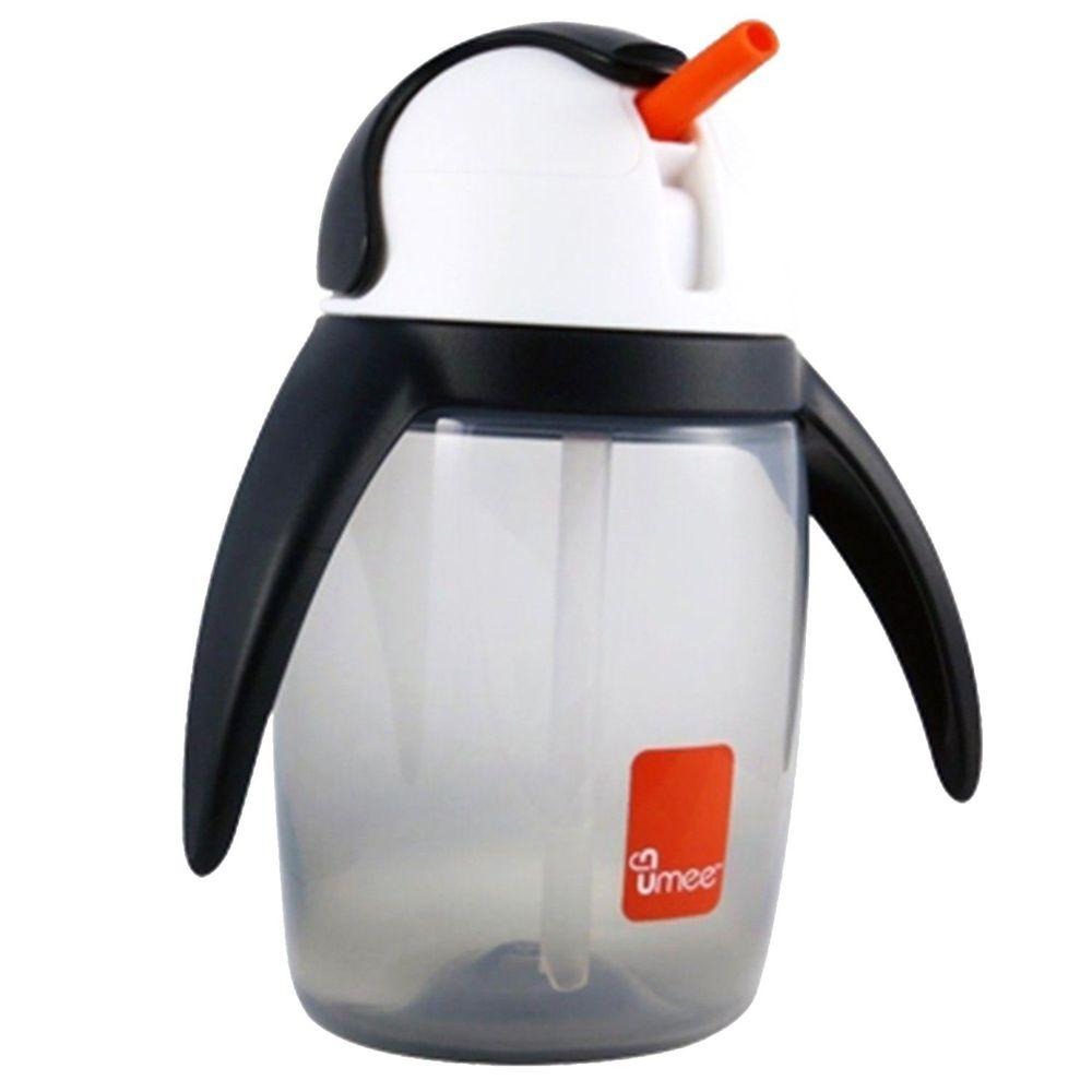 荷蘭 Umee - 優酷企鵝水杯-灰色-360ml
