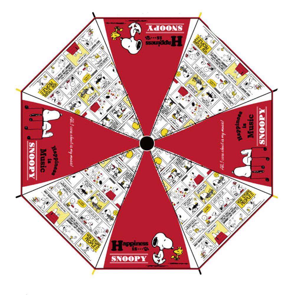 日本代購 - 卡通直傘-史努比-紅 (55cm(130cm以上))