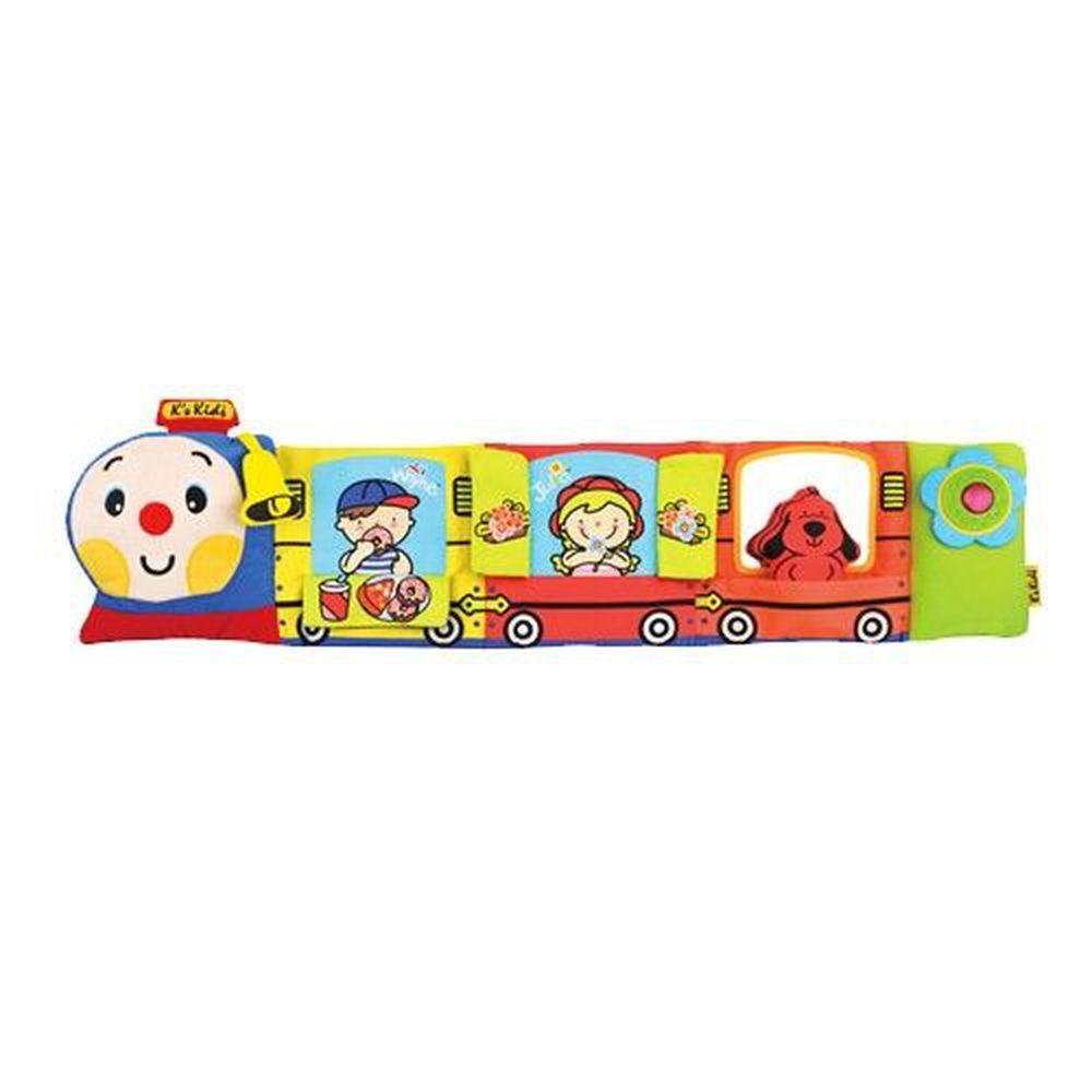 K's Kids - 布書-火車造型床圍