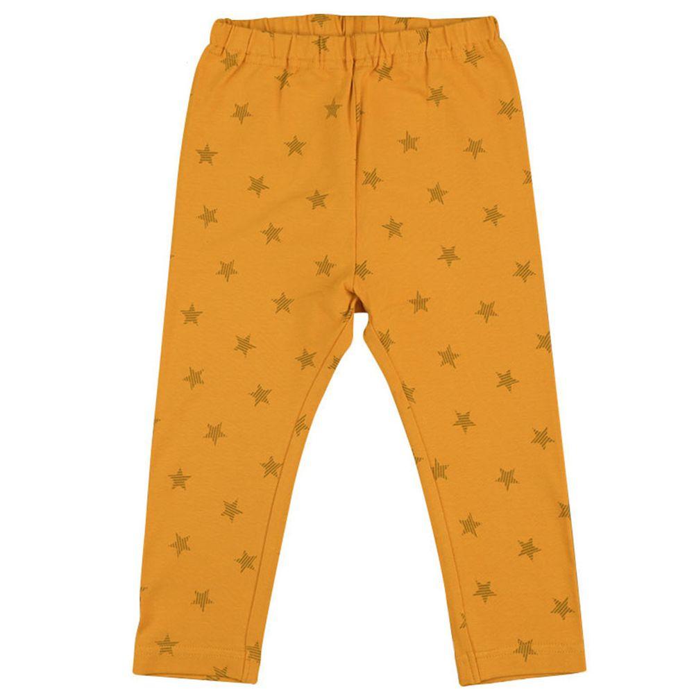 akachan honpo - 10分內搭褲-黃色