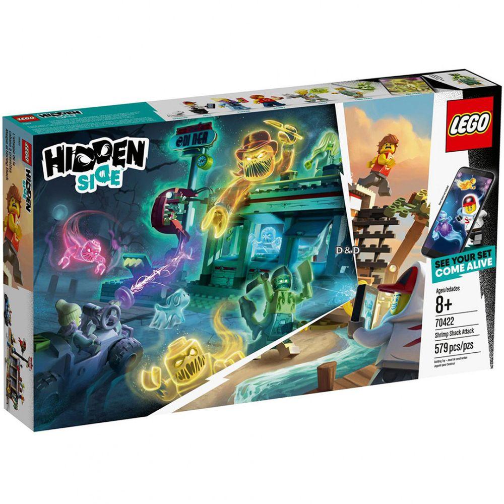 樂高 LEGO - 【新品】樂高Hidden Side幽靈祕境系列-蝦屋攻擊 70422-579pcs