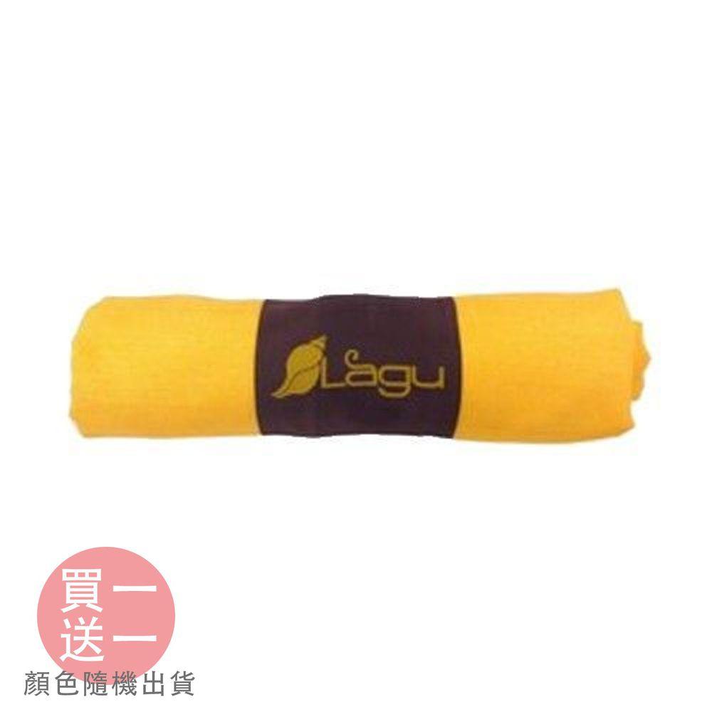 澳洲Lagu - 快乾防沙毯買一送一組-(贈品顏色隨機)-太陽黃 (152x114cm)