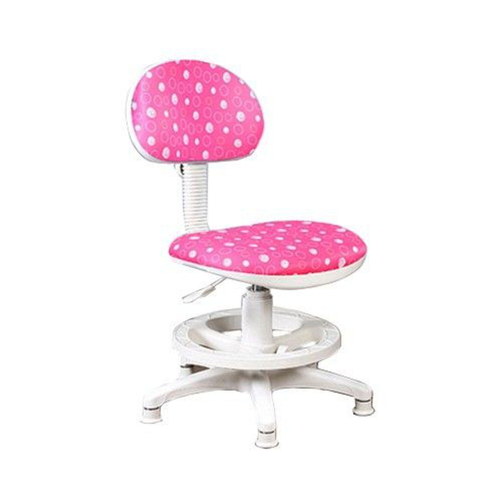 創意小天才 - 《知識家》兒童成長可調式電腦椅【水玉限定版】/兒童桌椅-紅色