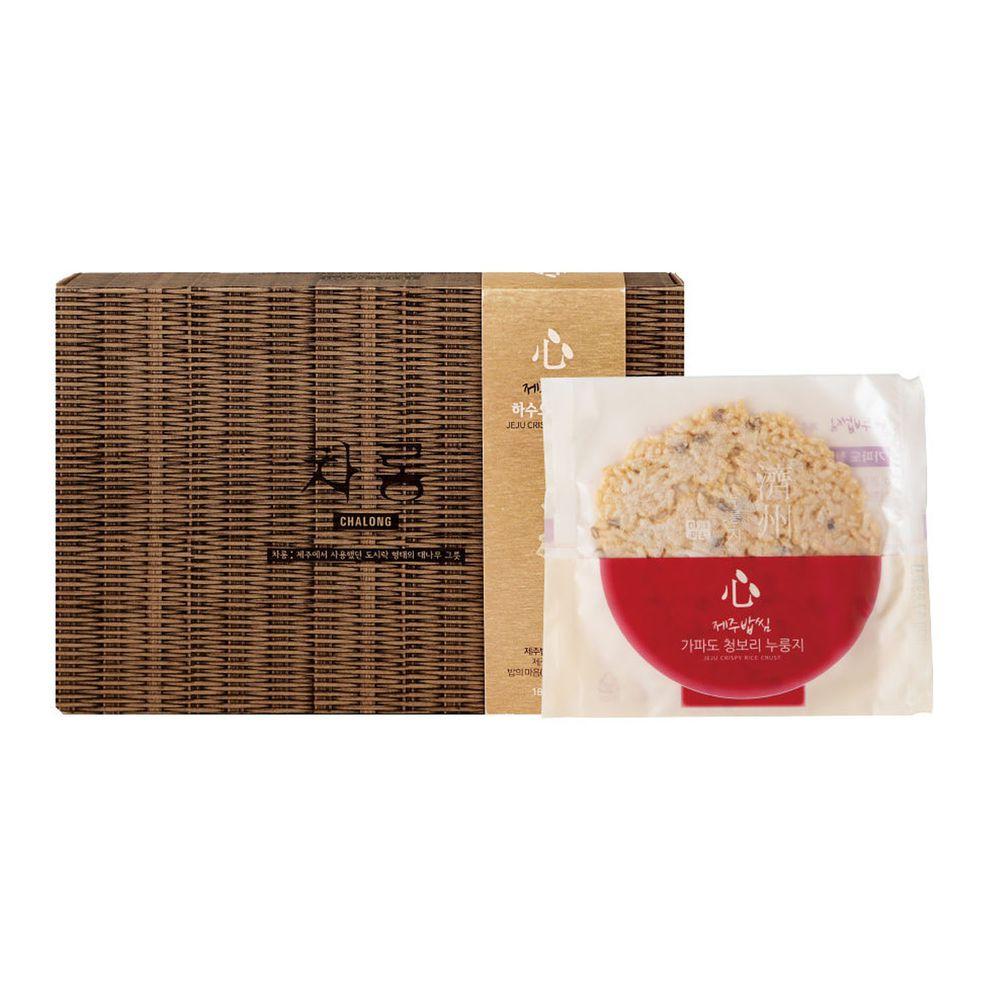 JejuMami 濟州媽咪 - 濟州之心鍋巴餅-青麥禮盒 (10包/20片)