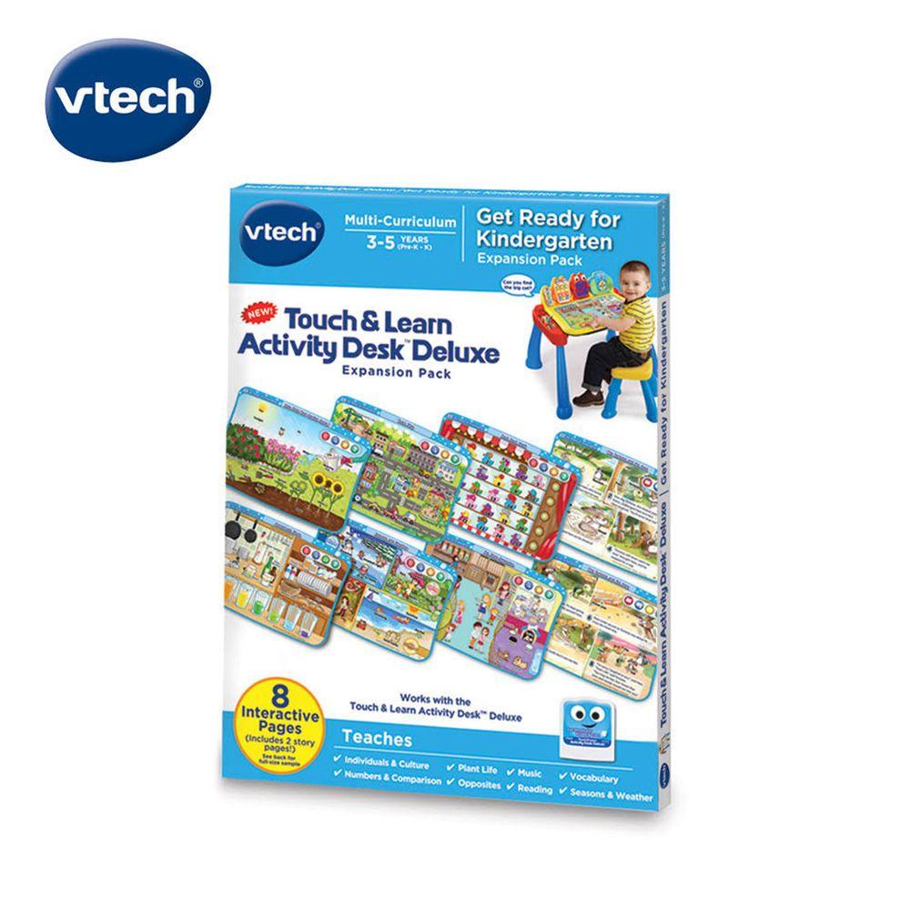 Vtech - 互動學習點讀桌圖鑑套卡組-幼兒園入學啟蒙(3-5Y)