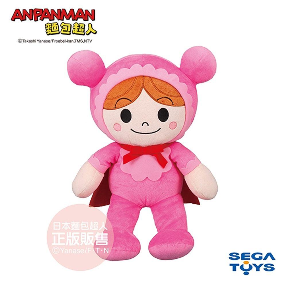 麵包超人 - 蓬蓬微笑布偶S PLUS嬰兒超人-1.5歲-