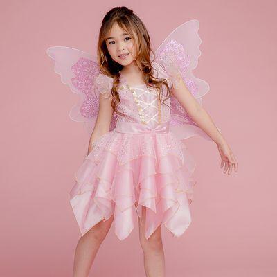 粉蝴蝶仙子裝