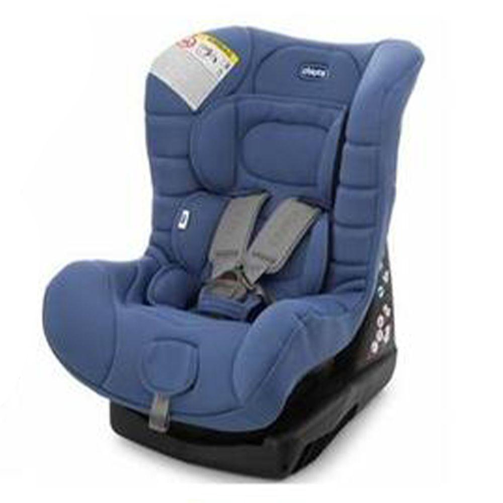 義大利 chicco - ELETTA comfort寶貝舒適全歲段安全汽座-經典藍