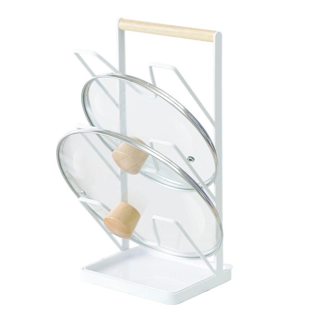 三層鍋蓋置物架-白色