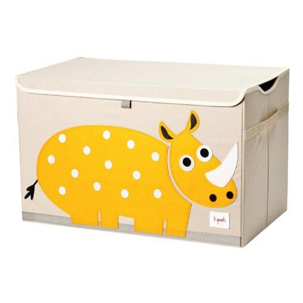 加拿大 3 Sprouts - 大型玩具收納箱-犀牛