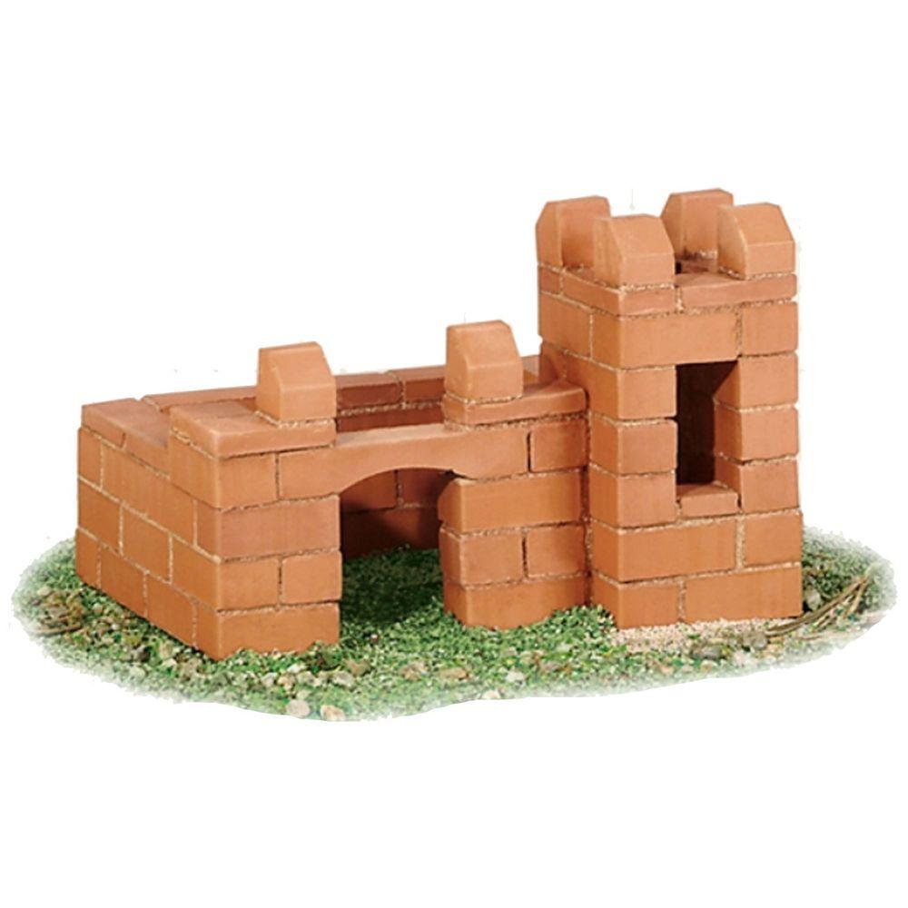 德國 teifoc - 益智磚塊建築玩具-變型城堡-TEI4000-團購專案