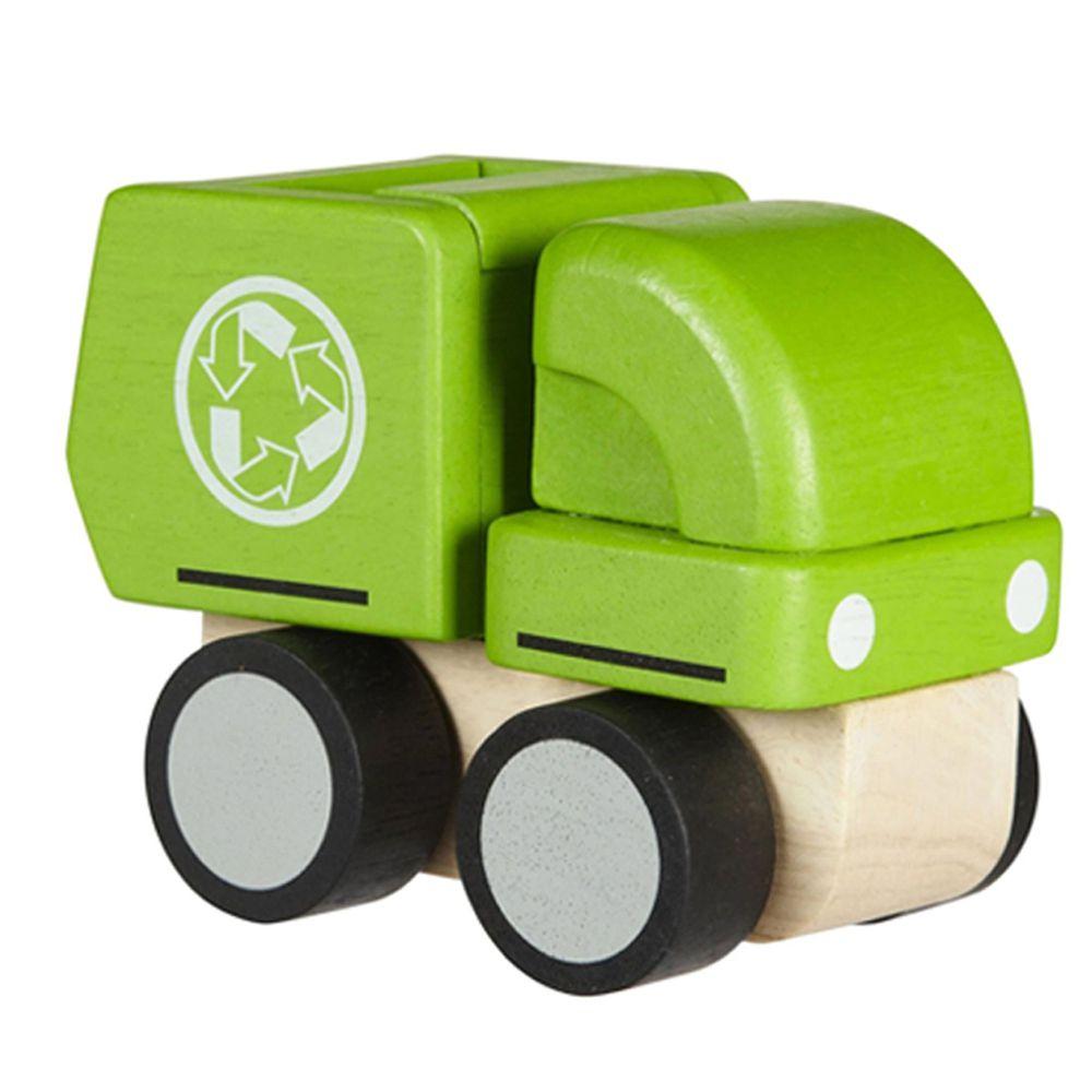 泰國 Plantoys - 嚕嚕回收車