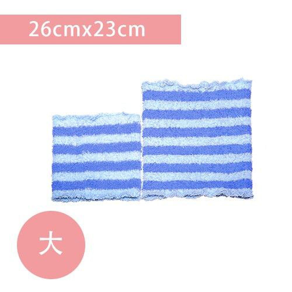 YODA - 輕柔透氣伸縮肚圍-粉藍莓-大(26cm*23cm)