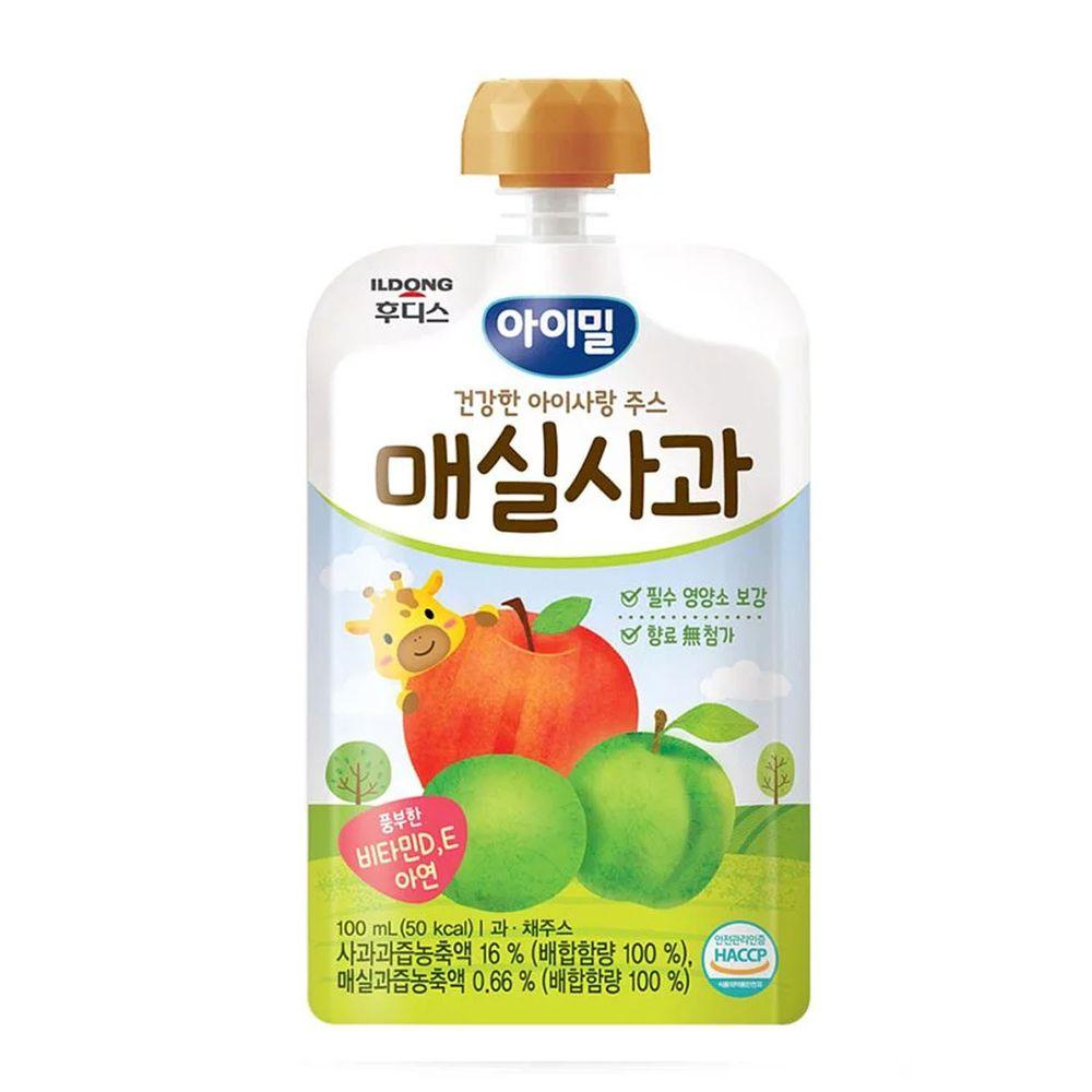 韓國Ildong Foodis日東 - 蘋果梅果汁-效期 2022.03.03
