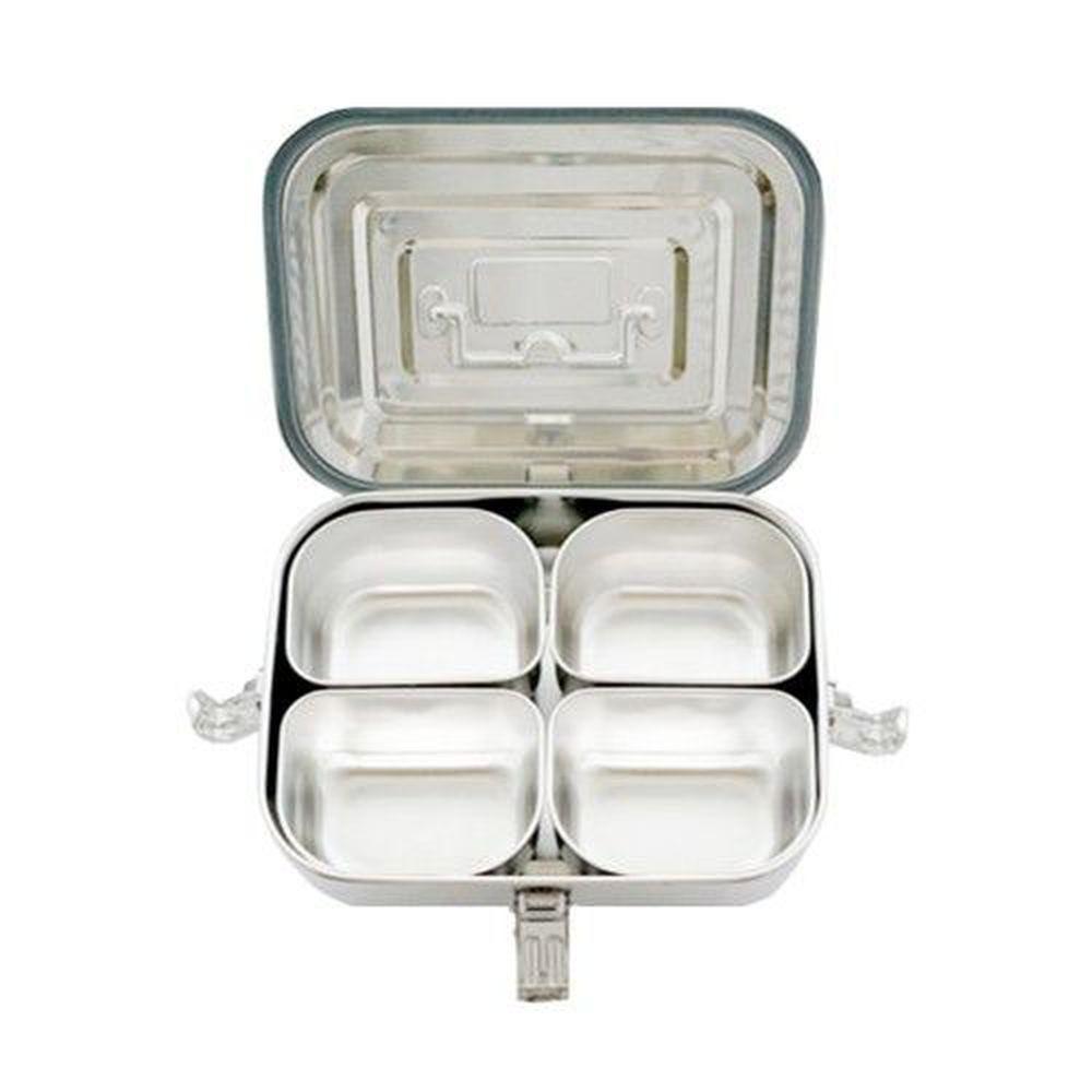 HANPLUS - 不鏽鋼餐具系列-霧面方形提盒組-2.5L