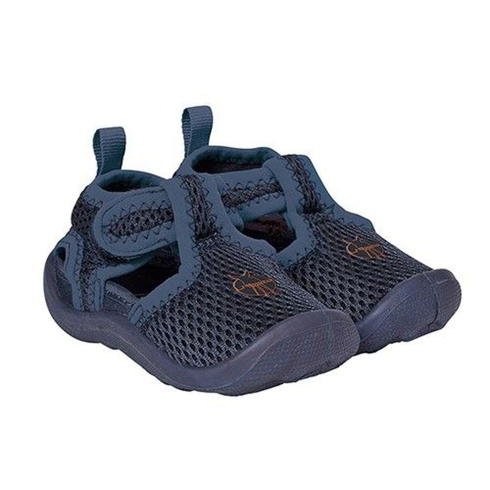 德國 Lassig - 嬰幼童透氣快乾輕量沙灘涼鞋-海藍(3-4歲)