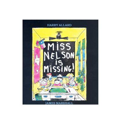 有聲書-MISS NELSON IS MISSING/書+CD